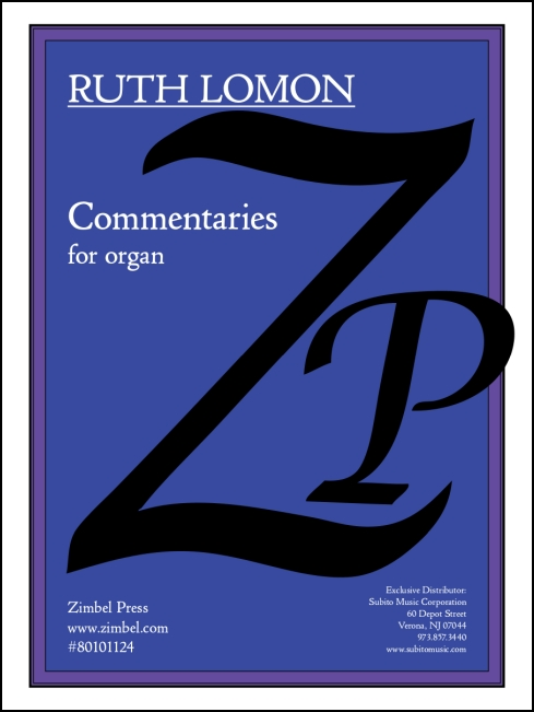 Commentaries for organ