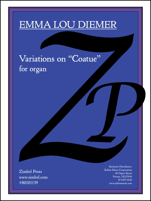 Variations on Coatue for organ