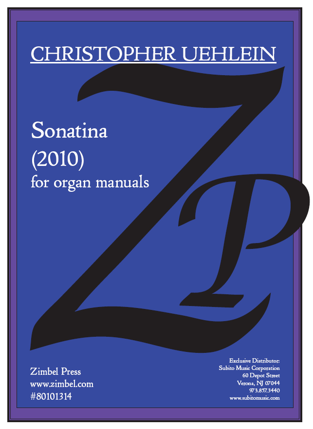 Sonatina for organ