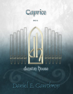 Caprice for organ