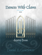 Dances With Clams for cello & organ