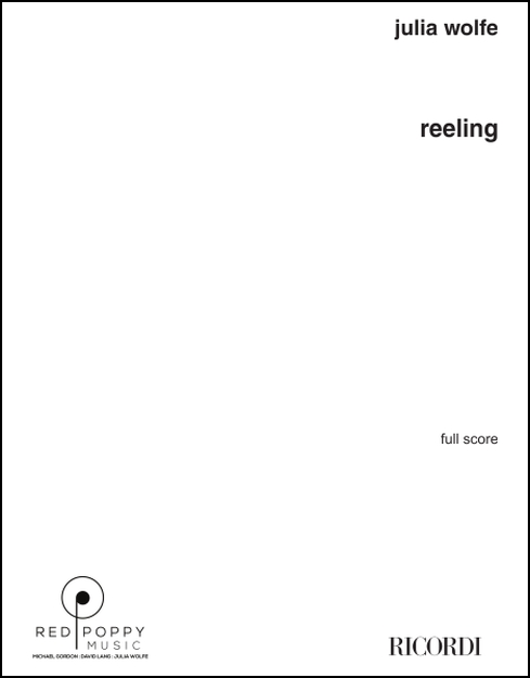 Reeling (score) for Clarinet, Guitar, Piano, Drum Set, Cello, Bass, Sample