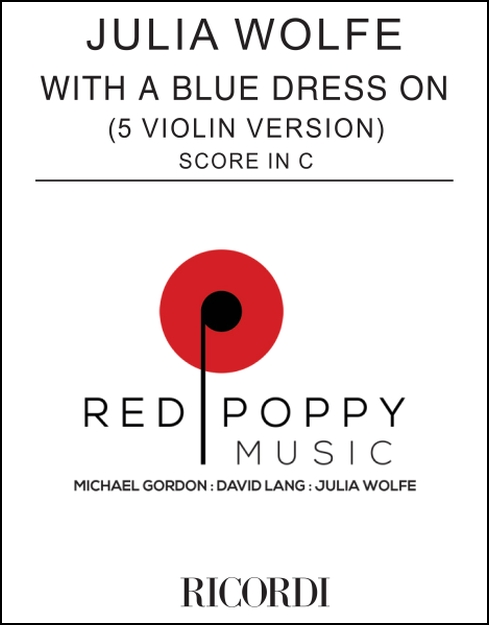 With a Blue Dress On (score) for 5 violins
