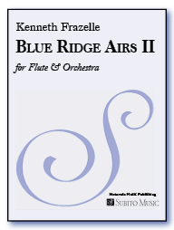 Blue Ridge Airs II for flute & orchestra