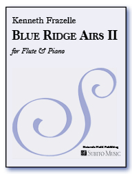 Blue Ridge Airs II for flute & piano