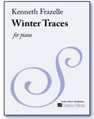 Winter Traces for piano