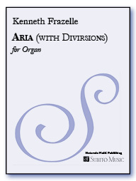 Aria (with Diversions) for Organ