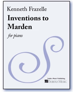 Inventions to Marden for piano