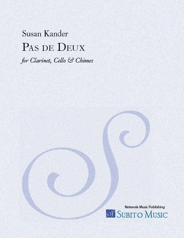 Pas de Deux for clarinet, cello (plus chimes)