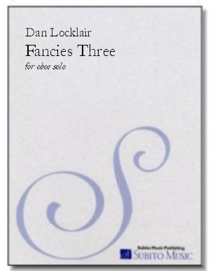 Fancies Three, The three fantasy pieces for solo oboe