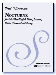 Nocturne for Solo Oboe/English Horn, Bassoon, Violin, Violoncello & Strings