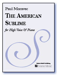 American Sublime, The for high voice & piano