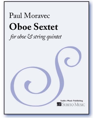 Oboe Sextet for oboe & string quintet