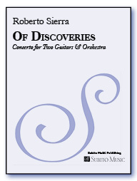 Of Discoveries concerto for two guitars & orchestra