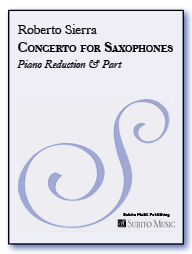 Concerto for Saxophones & Orchestra (piano reduction)