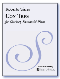 Con Tres for clarinet, bassoon & piano