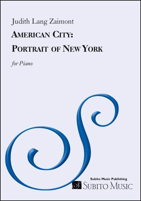 American City: Portrait of New York for piano