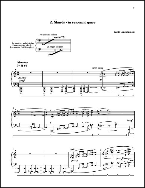 Winter Preludes for Piano