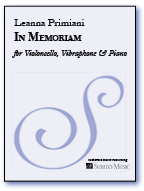 In Memoriam for Violoncello, Vibraphone & Piano