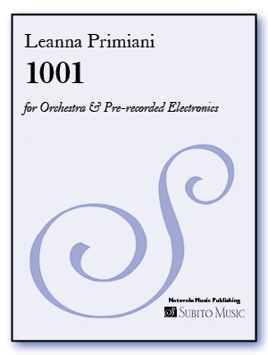 1001 for Orchestra & Pre-recorded Electronics