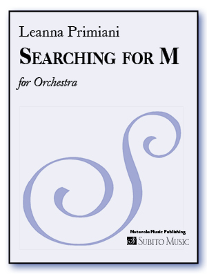 Searching for M for Orchestra