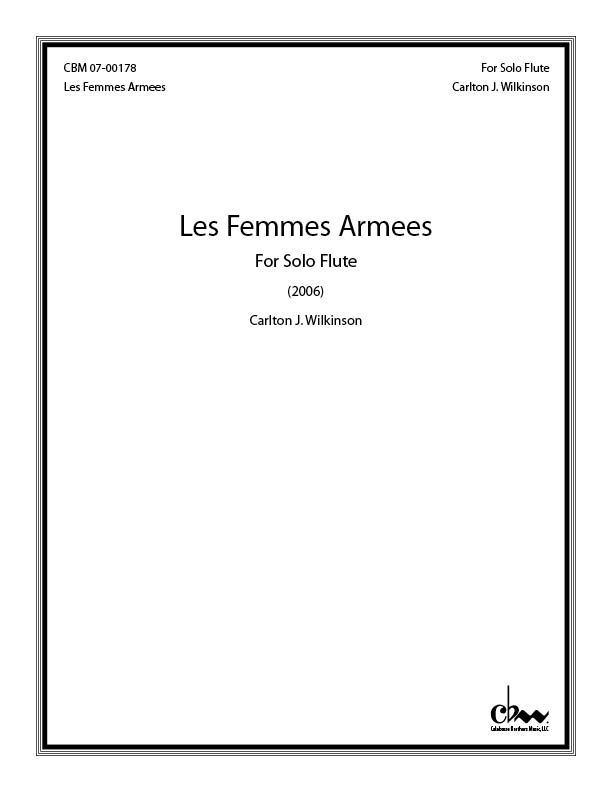 Les Femmes Amees for Flute Solo