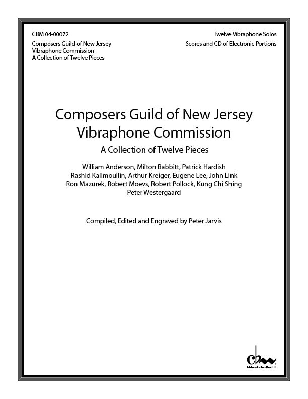 Composers Guild of New Jersey Vibraphone Commission for Vibraphone & electronic sounds