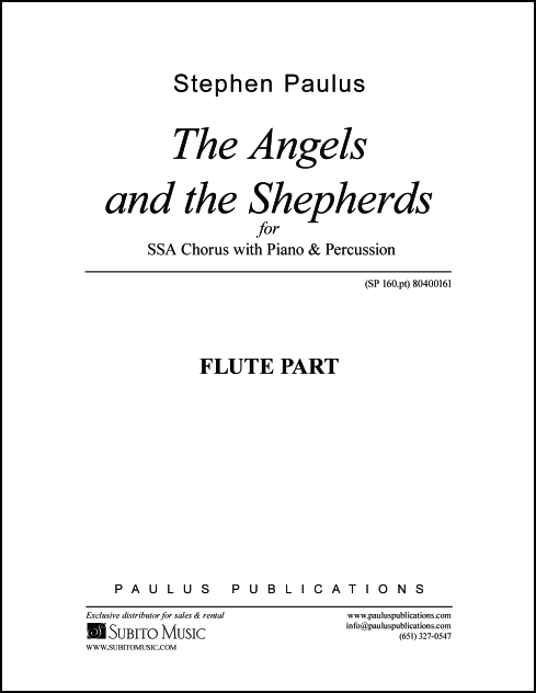 Angels and the Shepherds, The Flute part