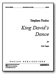King David's Dance for Organ
