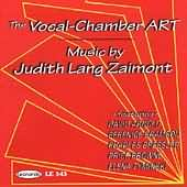 The Vocal-Chamber Art [CD]