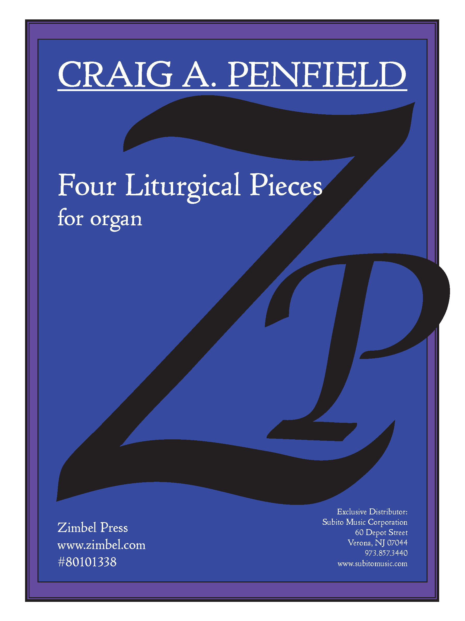 Four Liturgical Pieces for Organ