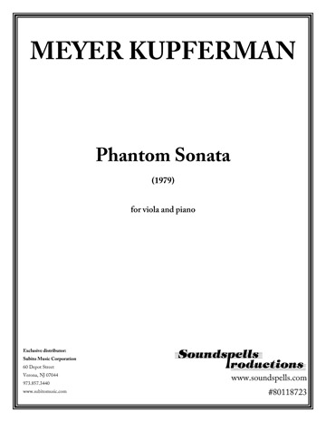 Phantom Sonata for Viola & Piano