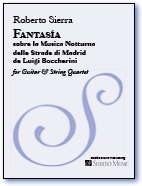 Fantasía for Guitar & String Quartet