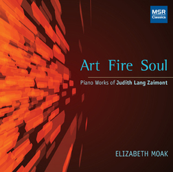 Art Fire Soul Audio CD - Piano Music of Judith Lang Zaimont